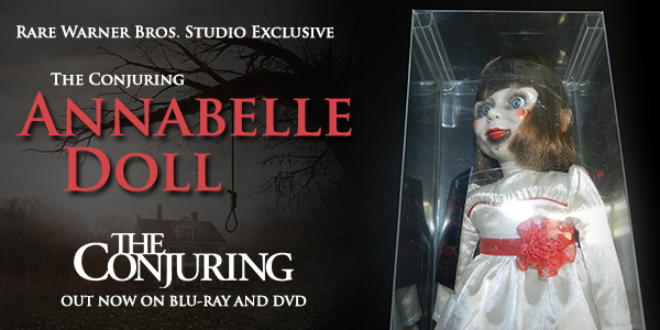Giveaway: Win a Creepy Annabelle Doll Replica from THE CONJURING